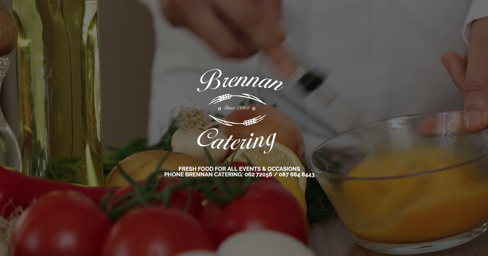 Brennan Catering Website
